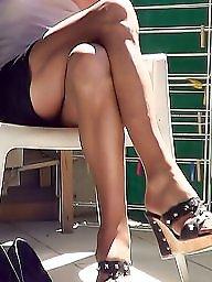 Pantyhose, Pantyhose upskirt, Upskirt stockings, Upskirt pantyhose, Sun, Amateur pantyhose