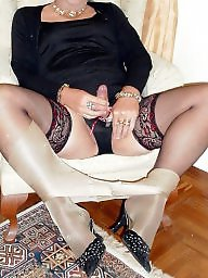 Mature upskirt, Upskirt stockings, Matures, Upskirt mature