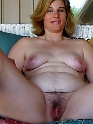 Mature, Hairy mature, Natural, Hairy milf