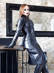 Latex, Pvc, Boots, Leather, Mature leather, Mature boots