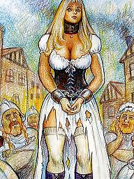 Slave, Slaves, Bdsm cartoon, Cartoon bdsm, Bdsm cartoons