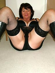 Mature stockings, Old mature, Hairy mature