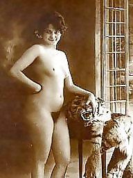 Pussy, Lady, Vintage amateur