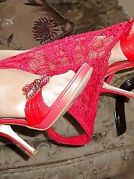 Heels, Mature blowjob, Red, Mature heels, Mature blowjobs, Blowjob mature