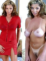 Clothed, Clothes, Milf nude