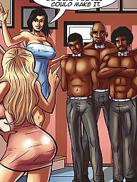 Cartoon, Interracial cartoon, Interracial cartoons, Bbc, Bbc cartoon, Cartoon interracial