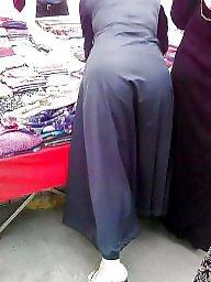 Hijab ass, Candid