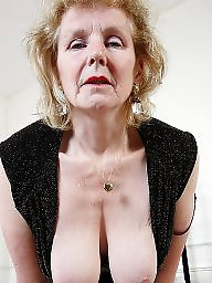 Piercing, Granny pussy, Pierced, Mature stockings, Mature slut, Granny stockings