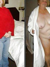 Dressed undressed, Dressed, Undressed, Mature dress, Granny dressed, Granny dress