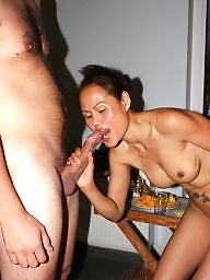 Gangbang, Groups, Asian amateur, Asians