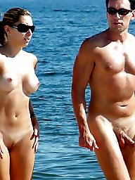Nude beach, Couples, Couple, Nude couples, Beach voyeur, Public voyeur