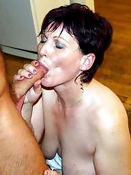 Cock, Matures, Mature cock, Sucking, Mature grannies, Granny mature