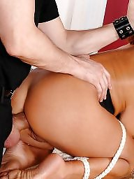 Thick, Interracial anal, Roped, Thickness, Rope