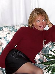 Mature pantyhose, Amateur pantyhose, Lady