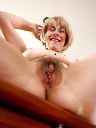 Mature hairy, Lady, Ladies