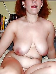 Amateur mature, Mature redhead