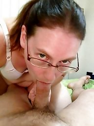 Glasses, Amateur blowjob, Glass
