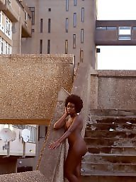 Ebony, Nudist, Nudists, Public flashing