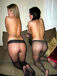 Pantyhose, Ass, Pantyhose ass, Stocking asses