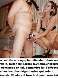 Cuckold, French, Caption, Cuckold captions, Chastity, French captions