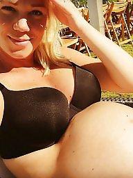Preggo, Swedish, Posing, Sun