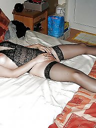 Milf stockings, Dressing