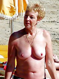 Granny, Granny beach, Mature beach, Grannies, Matures, Beach mature