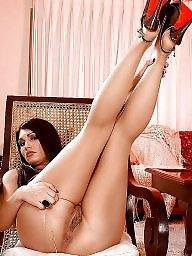 High heels, Heels, Stockings heels, Tease, Teasing, Stockings tease