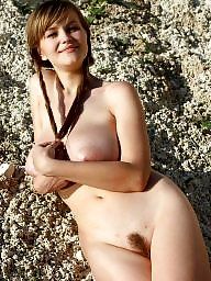 Beach, Hanging, Huge boobs, Russians, Huge boob, Huge
