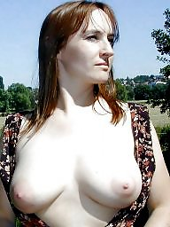 Mature big tits, Mature flash, Outside, Mature flashing, Flashing mature, Big mature