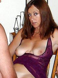 Lingerie, Purple, Amateur lingerie, Amateur milf