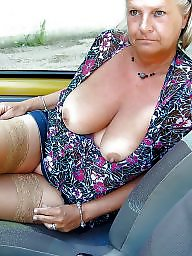 Mature stockings, Amateur matures