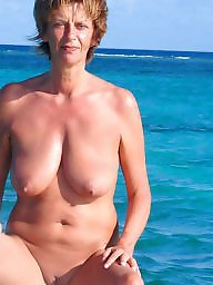 Nudist, Wifes tits, Mature big tits, Big amateur tits