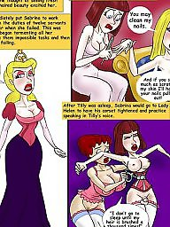 Cartoon, Corset, Corsets, Ironing
