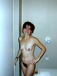 Housewife, Posing, Amateur mature, Nude, Husband, Nude mature