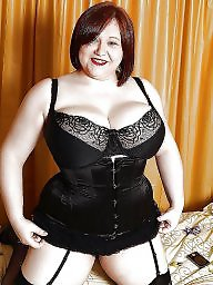 Girdle, Corset, A bra, Bbw stockings, Bbw milf, Milf stockings