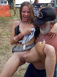 Festival, Public nudity
