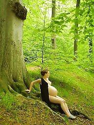 Bbw, Pregnant, Outside, Pregnant bbw, Pregnant boobs, Bbw pregnant