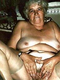 Mature granny, Grab