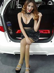 Asian pantyhose, Thailand, Heels, High heels, Asian babe