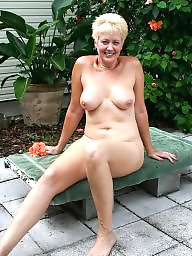 Garden, Sexy milf, Mature naked, Naked milf, Naked mature