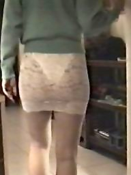 Skirt, Lace, Tight, Slutty, Tights, White
