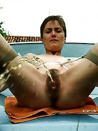 Spreading, Spread, Mature spread, Mature spreading, Mature nylon, Tanned