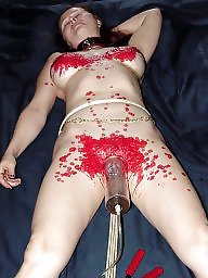 Submissive, Mature bdsm, Wax, Submission