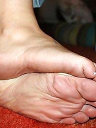 Mature soles, Wrinkled, Cummed