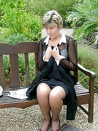 Uk mature, Mature stocking, Mature stockings