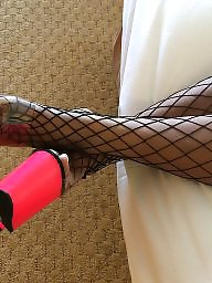 Ebony stockings, Blacked, Stocking amateur, Black stocking