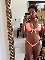 Black, Ebony tits