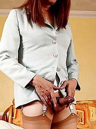 Mature upskirt, Upskirt mature, Fun, Upskirt stockings