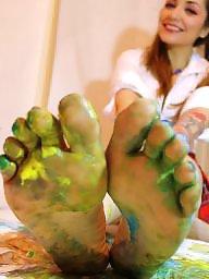 Feet, Femdom, Teen feet, Femdom feet, Teen flash